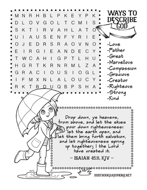 They're Here... FREE Bible Activity Pages for Kids   Free ...
