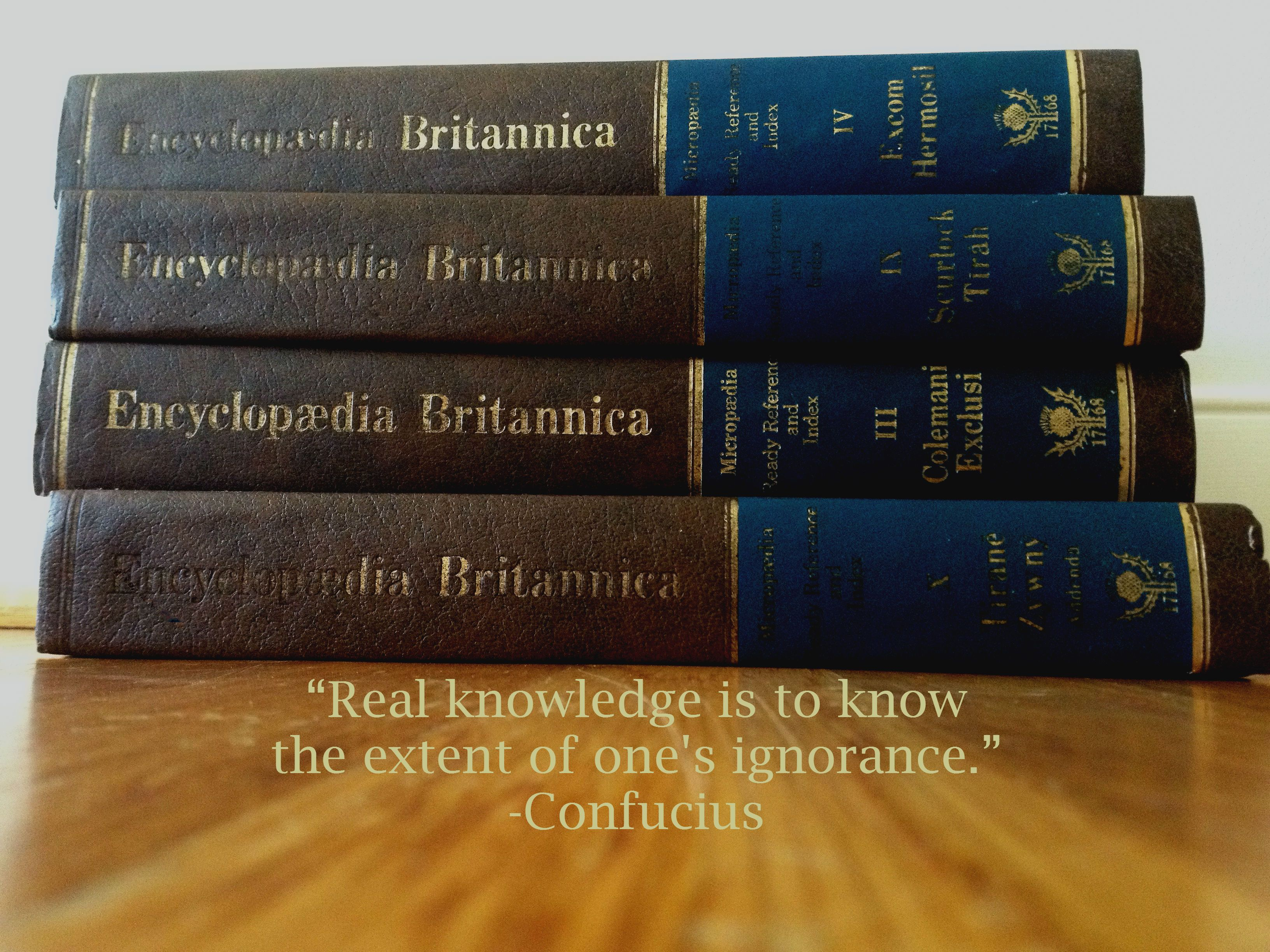 Design By Libby Hinckley Quote Real Knowledge Is To Know The