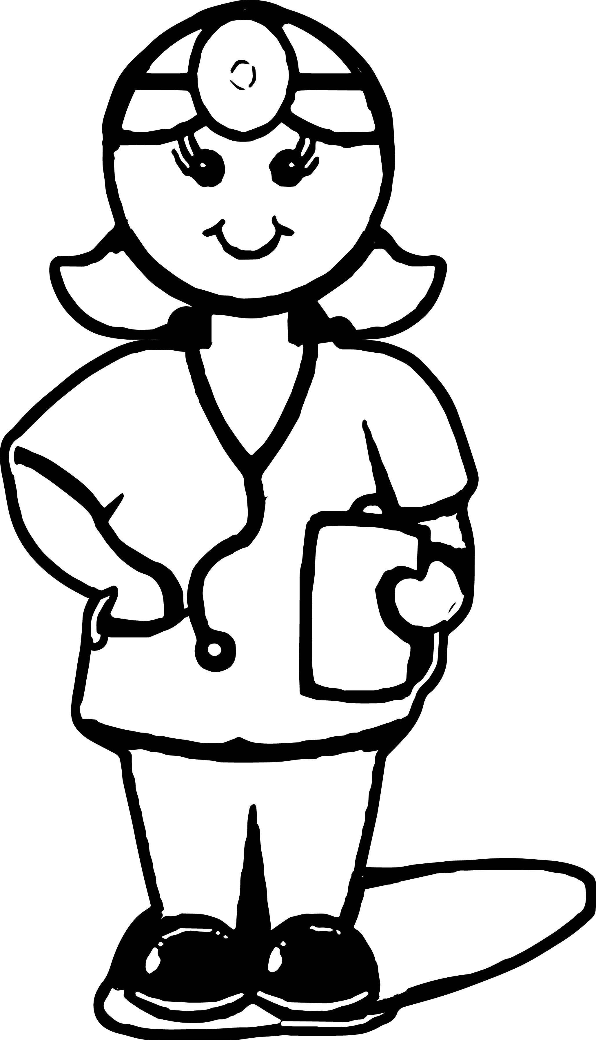 Cool Medical Doctor Cartoon Coloring Page Cartoon Coloring Pages