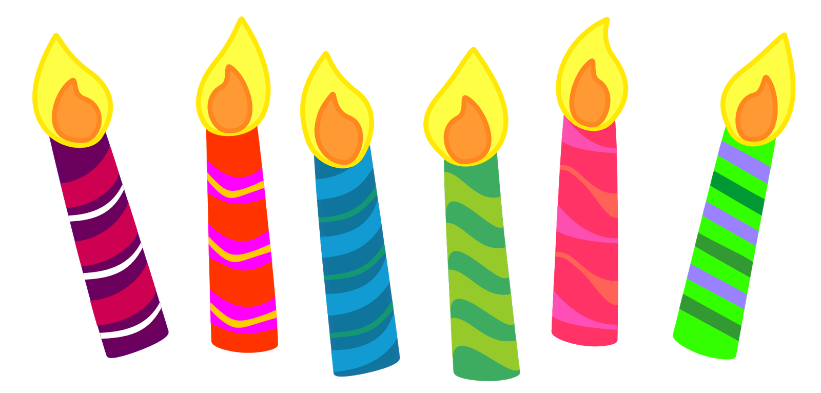 candle clipart for your projects or classroom free png files that rh pinterest com birthday candles clip art free birthday candle clipart images free