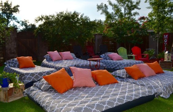 31 Fun Backyard Activities You And Your Family Will Enjoy Backyard Movie Party Backyard Movie Nights Outdoor Movie Party