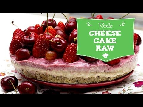 CheeseCake de Frutas Vermelhas Crudivegano | Raw | Vegan - YouTube