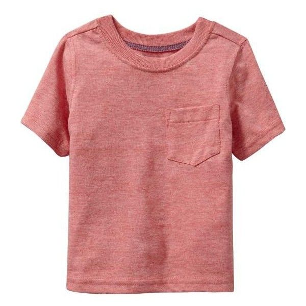 Old Navy Pocket Tees For Baby (13 BRL) ❤ liked on Polyvore featuring baby, kids, baby clothes, baby boy and baby stuff