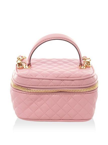 Moschino Women's Quilted Handbag, Pink, Mini, http://www.myhabit ...