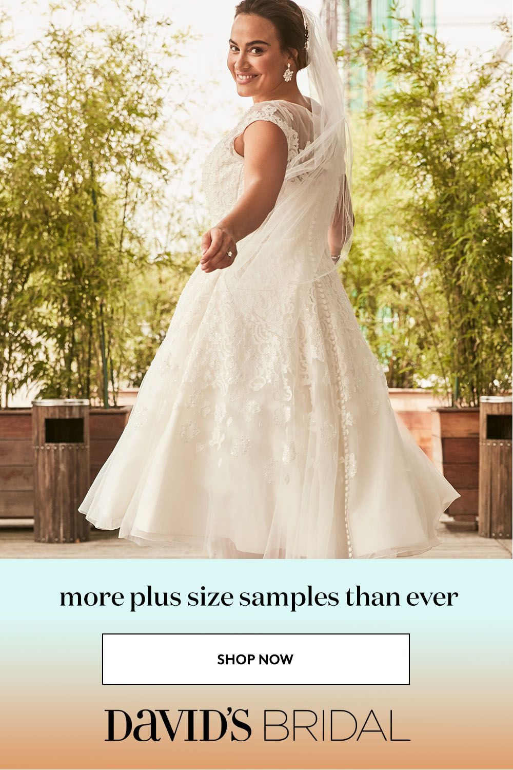 David S Bridal Carries More Samples In Sizes 0 30w Than Ever So That Every Bride Can See How Wedding Dresses Actually Fit Bridal Gowns Bridal Wedding Dresses [ 1500 x 1000 Pixel ]