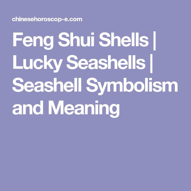 Feng Shui Shells Lucky Seashells Seashell Symbolism And Meaning