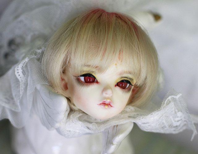 BJD doll Soom Head Shale with horn/ fantasy body Grey Pure ...