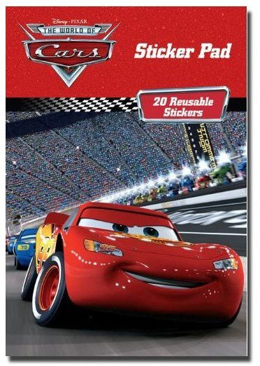 Blocco stickers Disney Cars