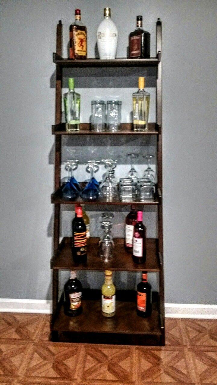 Coffee Bar Shelf Decor