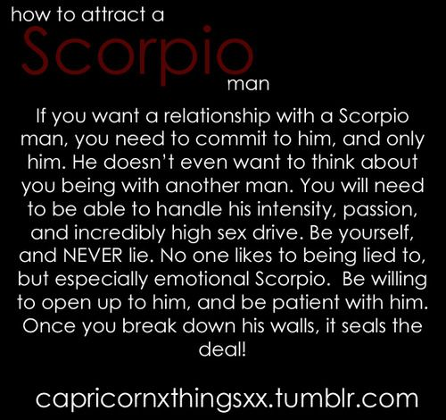 You man likes scorpio when a ✅ Four