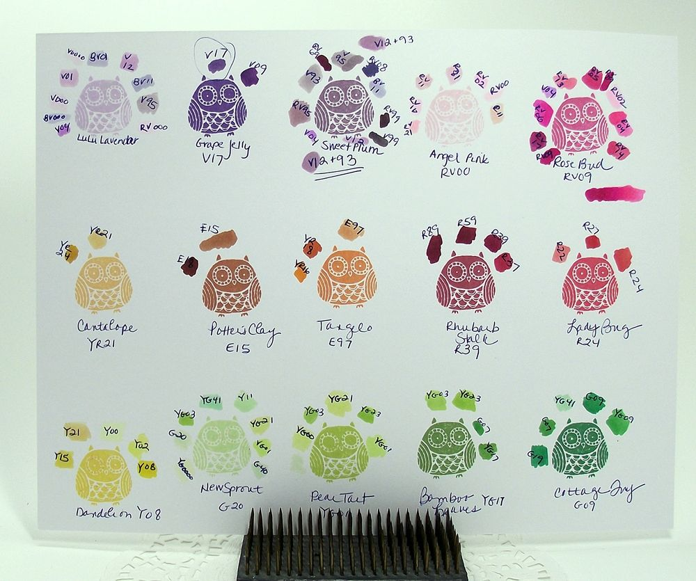 Chart showing memento inks with corresponding copic numbers chart showing memento inks with corresponding copic numbersart 1 nvjuhfo Image collections