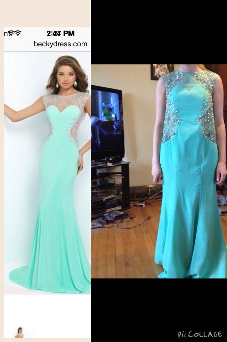 Sisters prom dress - http://www.seethisordie.com ...