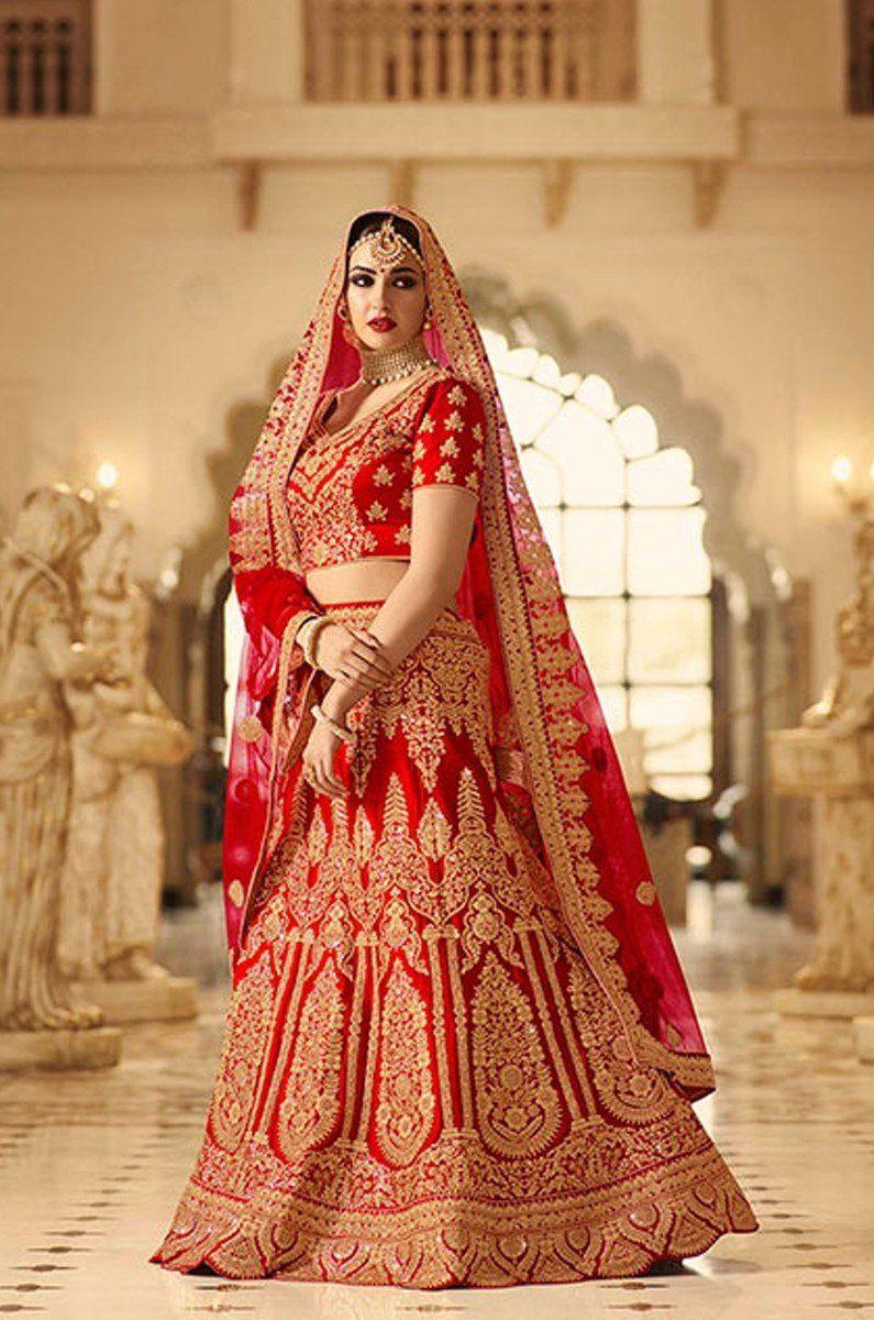 8dc0669997f8 Exclusive Designer Beautiful Red Color Bridal Lehenga Choli-STYLIZONE –  Stylizone #bridallehenga #lehenga #weddinglehenga #weddingwear  #exclusivelehenga