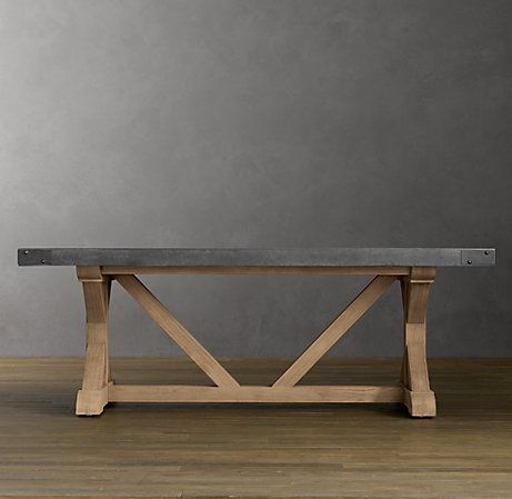 Restoration Hardware Knock Off Rectangular Dining Table