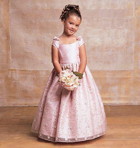 Vogue 7681 - The cutest little girls pattern I\'ve ever seen ...