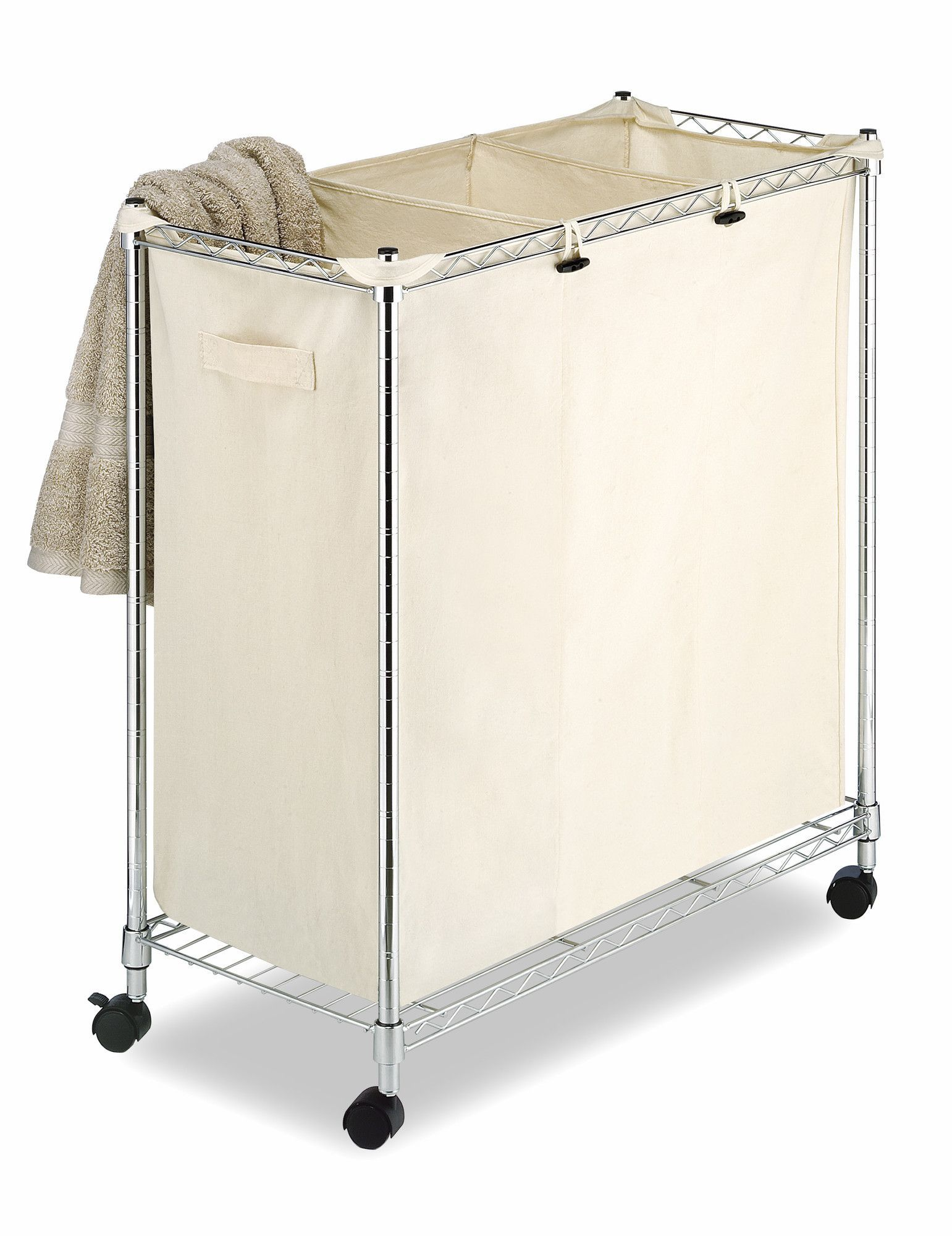Laundry Sorter | Steel frame, Laundry sorter and Laundry