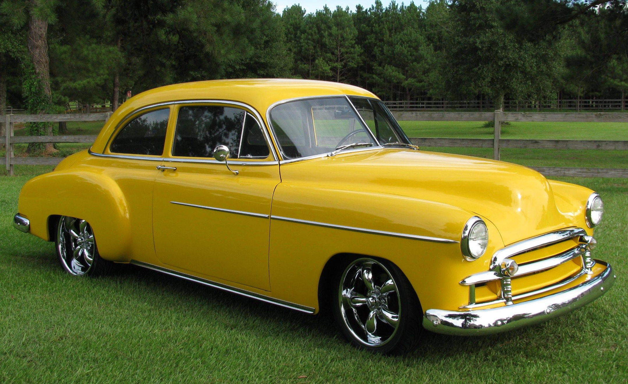 1950 Chevy Deluxe Maintenance restoration of old vintage vehicles