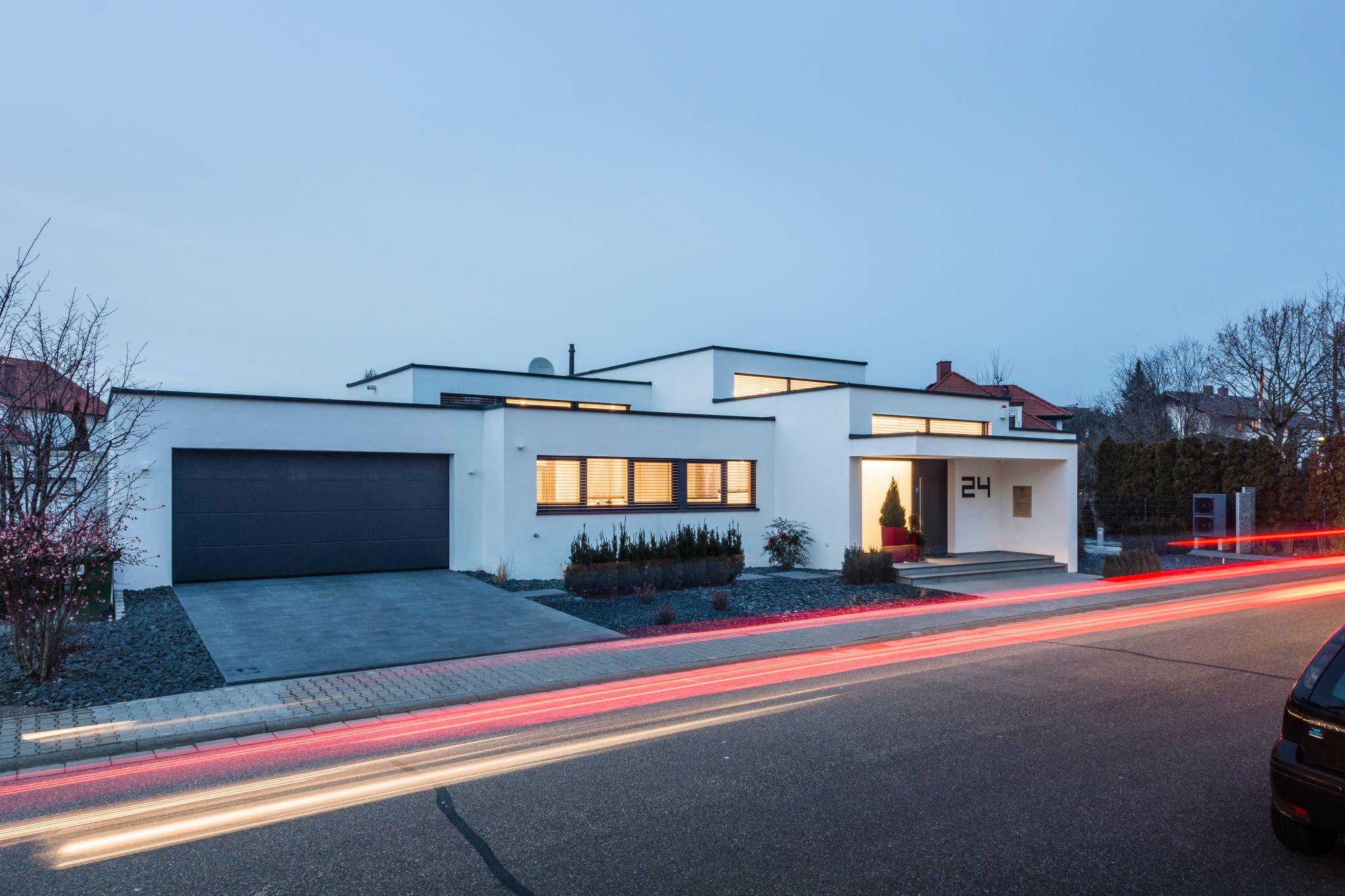 Kaskadenhaus einfamilienwohnhaus in bürstadt modern häuser von helwig haus und raum planungs gmbh