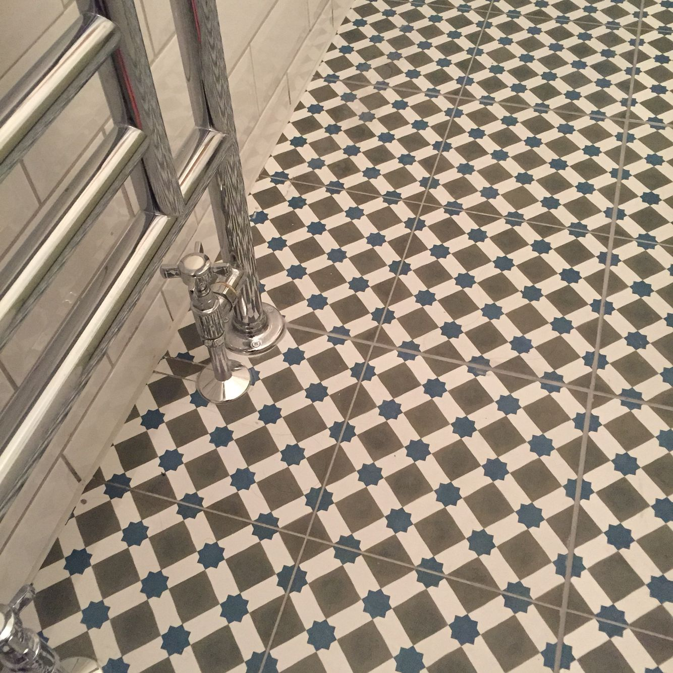 My new bathroom floor love it tiles are henley cool from topps my new bathroom floor love it tiles are henley cool from topps tiles dailygadgetfo Images