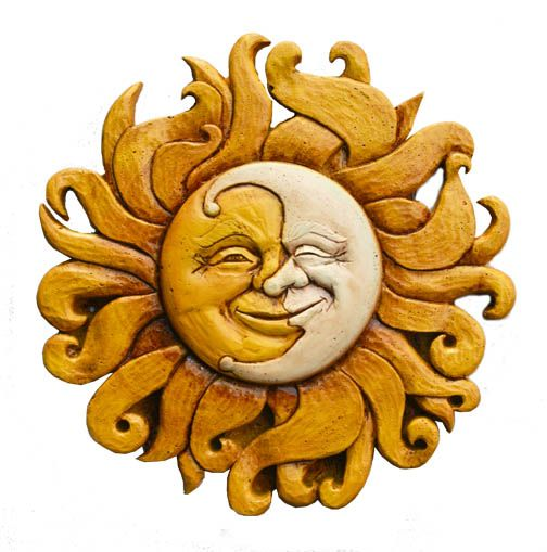 Sun Plaques|Sun Wall Decor|Sun Wall Art|Moon Wall Decor - Home ...