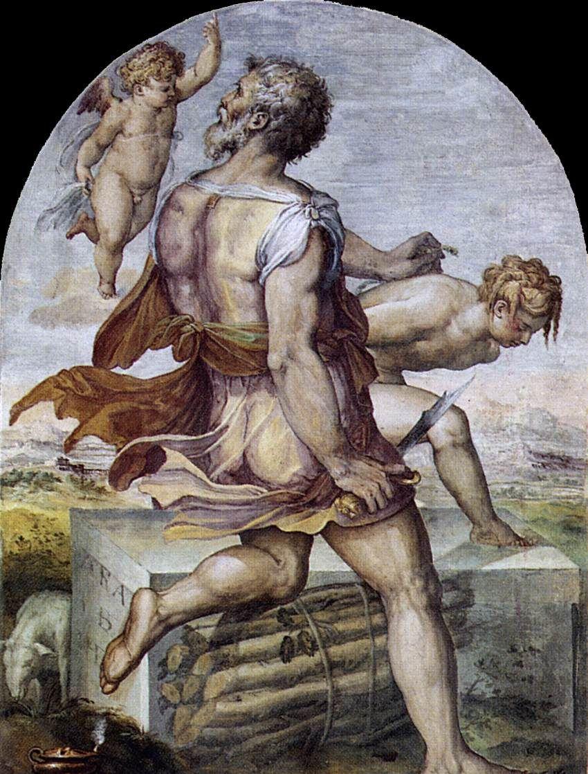 GHERARDI, Cristofano Abraham 1555 Fresco Museo Diocesano, Cortona 27 notas. C.P.
