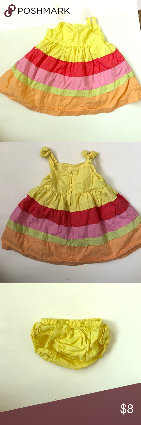 Yellow dress 3-6 months  Gymboree Colorful Dress in  months  Gymboree Dress casual and