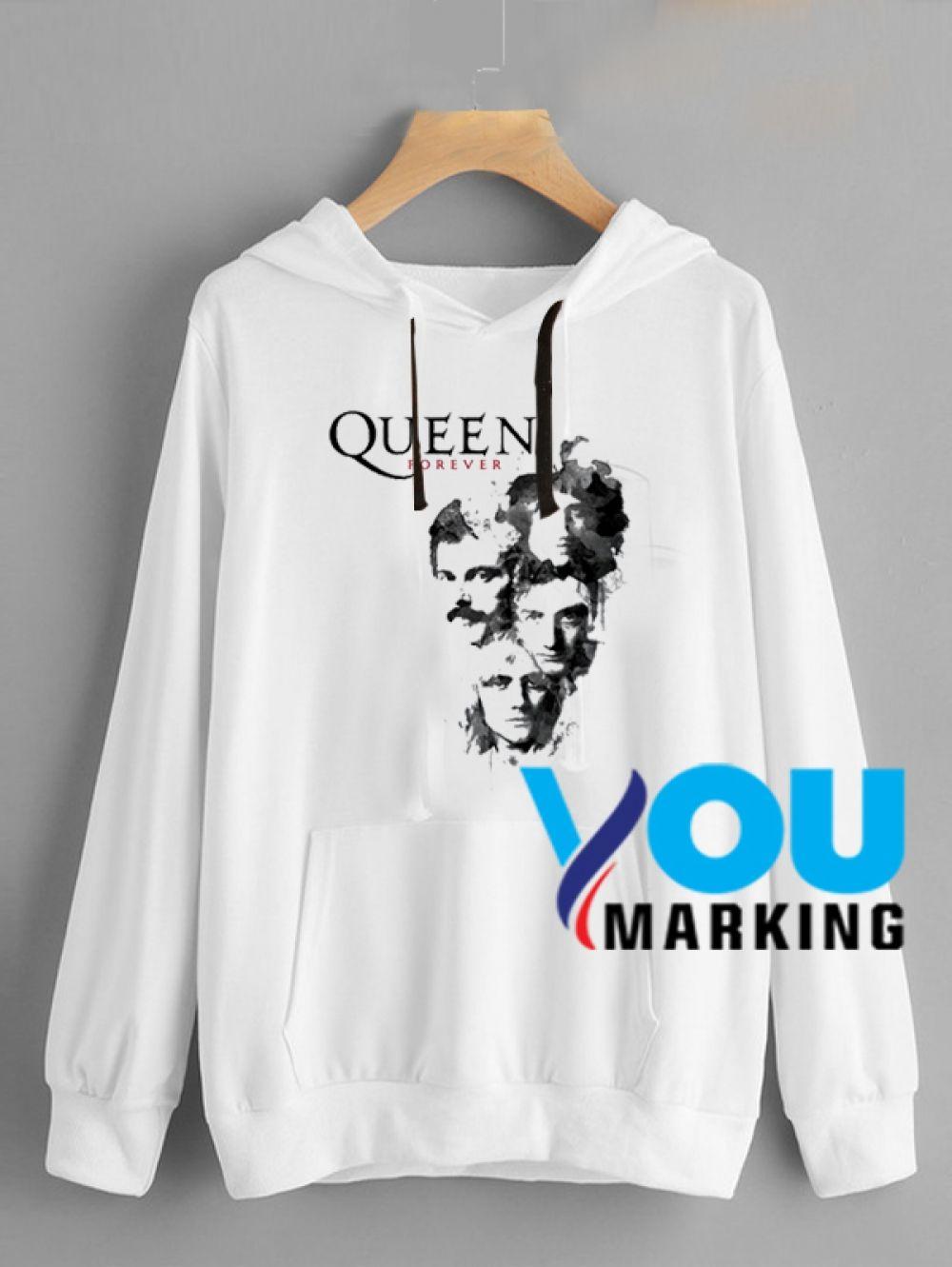 Freddie Mercury Inspired Gift Adult Unisex Mens Womens Hoodie Hooded Top