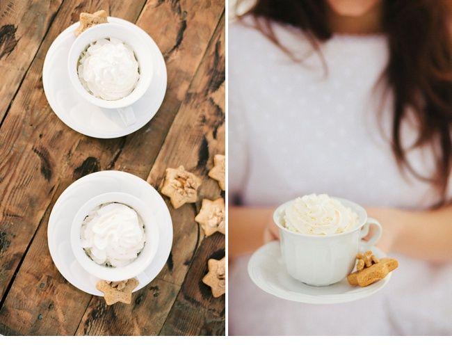 winter cappuccino