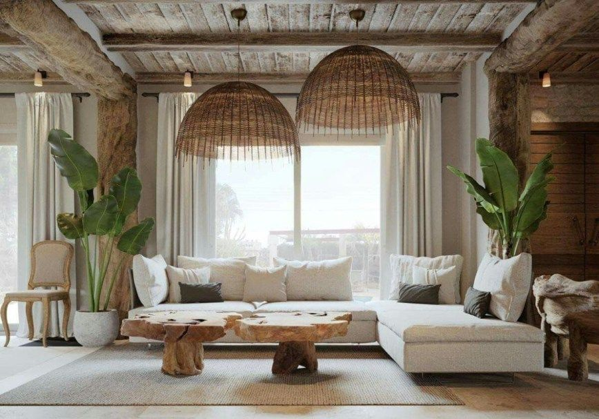 43 Cozy Boho Living Room Decor Ideas Boho Living Room Coastal