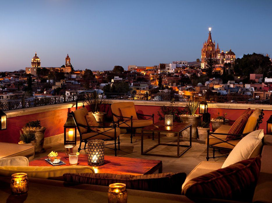 The Best Rooftop Restaurants In San Miguel De Allende Condé Nast Traveler