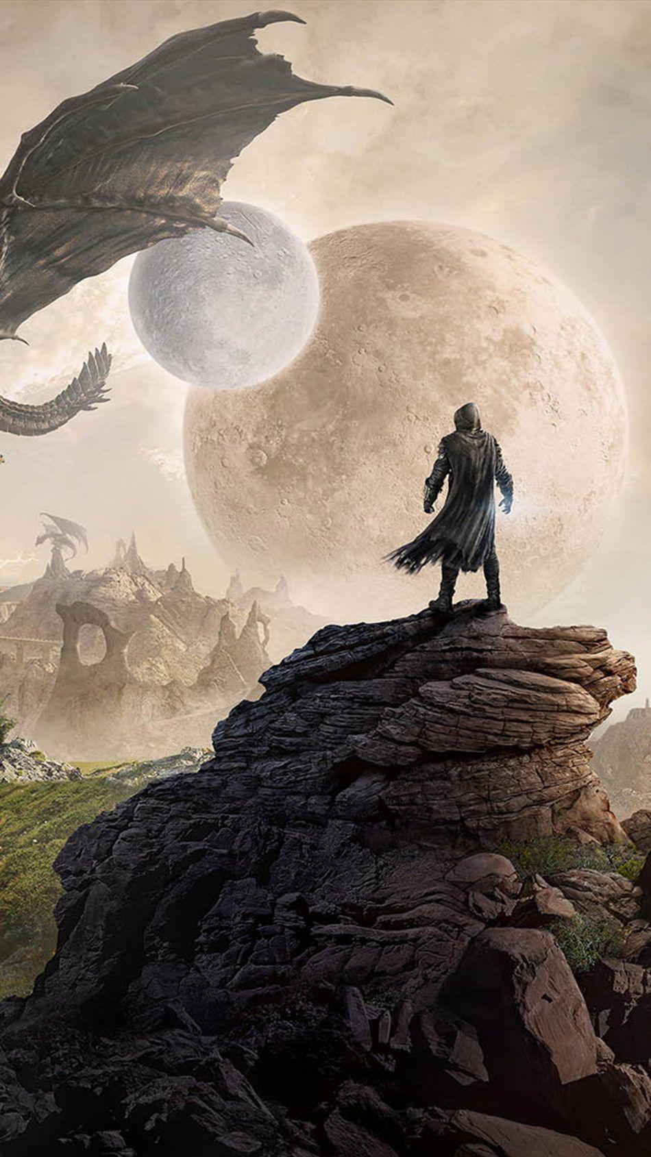 The Elder Scrolls Online Elsweyr 4k Ultra Hd Mobile Wallpaper Game Elder Scrolls Art Skyrim Wallpaper Skyrim Fanart