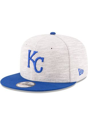 b201708d New Era KC Royals Grey Terry Fresh 9FIFTY Snapback Hat | MLB ...