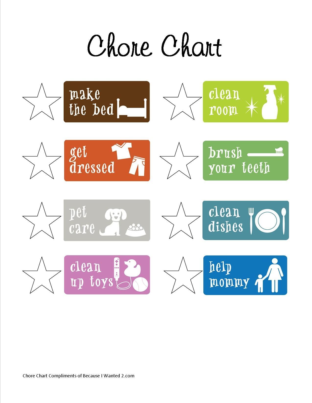photo about Free Printable Chore Chart Ideas called Printable Chore Chart For my small children Chore chart little ones