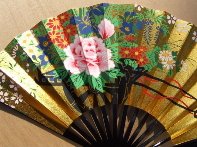 japanese fans made from bamboo and paper the japanese decorative fan originated in - Decorative Fans
