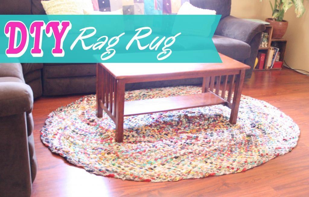 My New Rag Rug Diy rug, Rag rug, Homemade rugs
