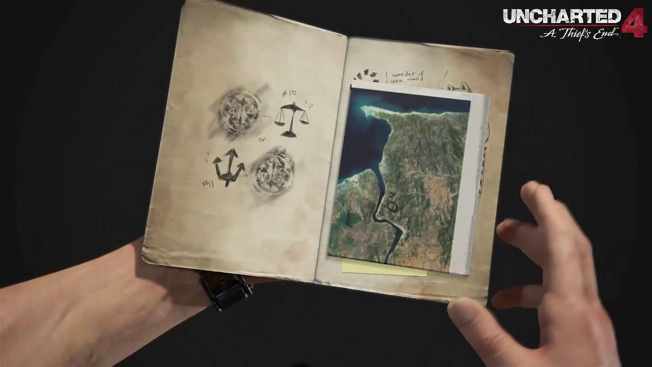 Uncharted 4: A Thief's End Journal (Page By Page)