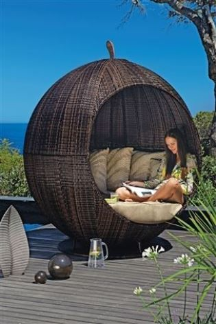 Garden Furniture Apple Pod ultimate outdoor seating, the apple pod from next | angoli
