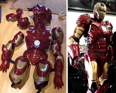 Как сделать костюм «Железного человека»? - технологические 43