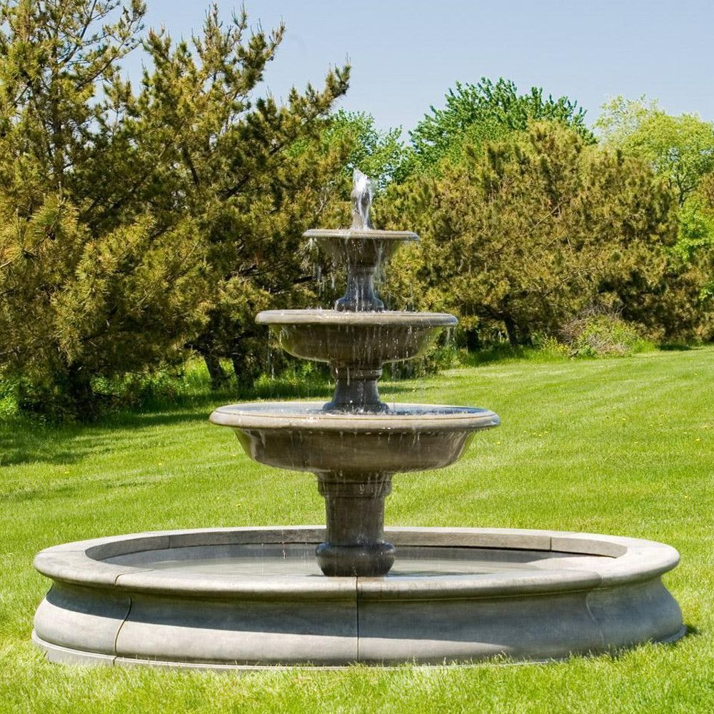 Free Shipping And No Sales Tax On The Newport Outdoor Water Fountain From The Outdoor Fountain Pros