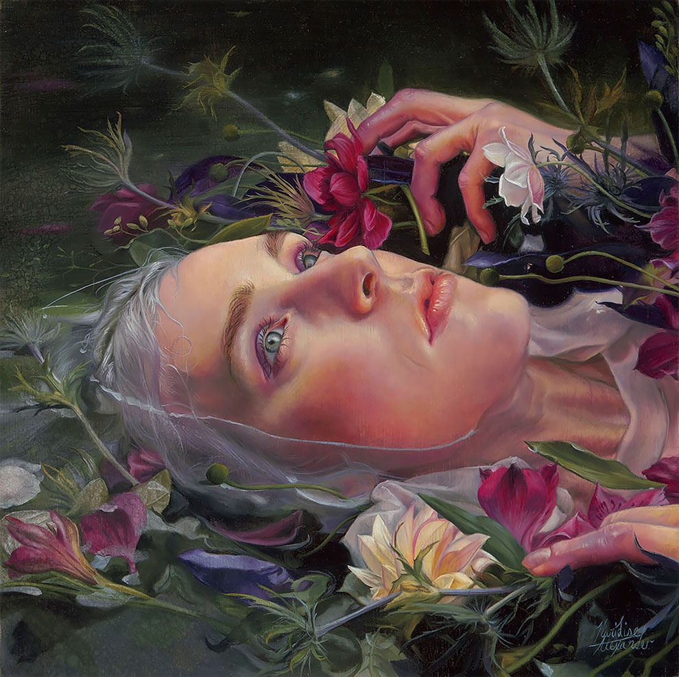 Photo of Hauntingly Beautiful Ophelia Paintings seduce you below the water surface