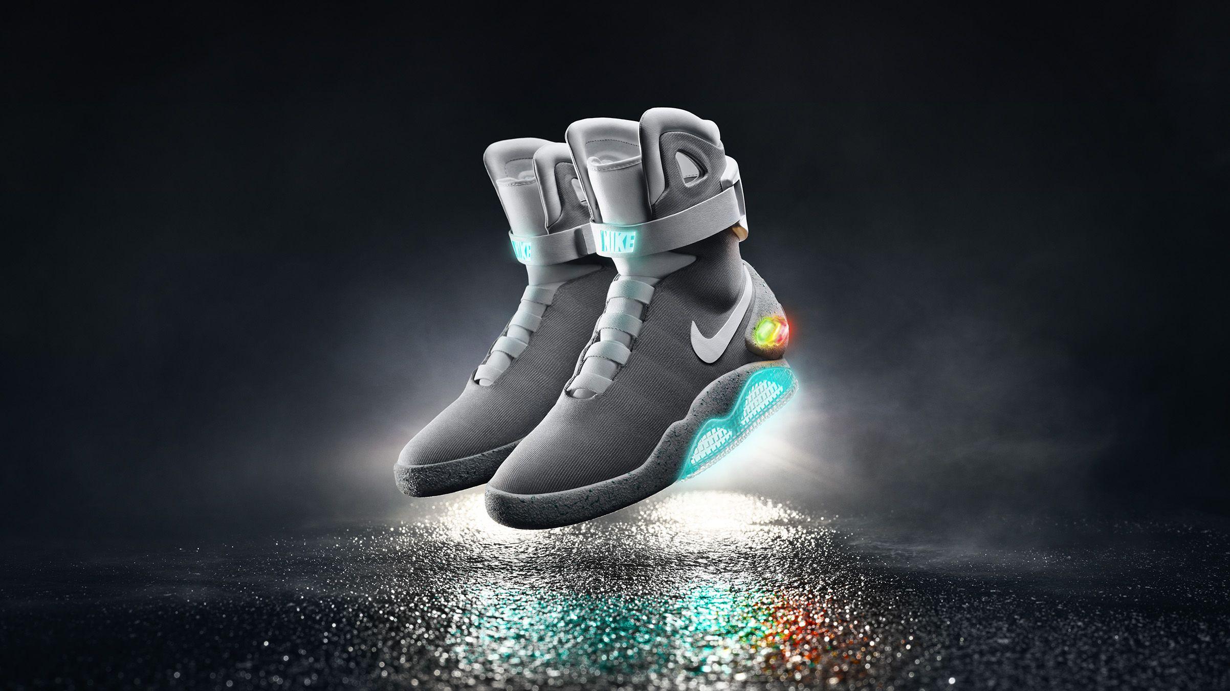 innovative design ed7ba 9f462 THE 2015 NIKE MAG   sneakerhead   Nike, Sneakers, Nike mag