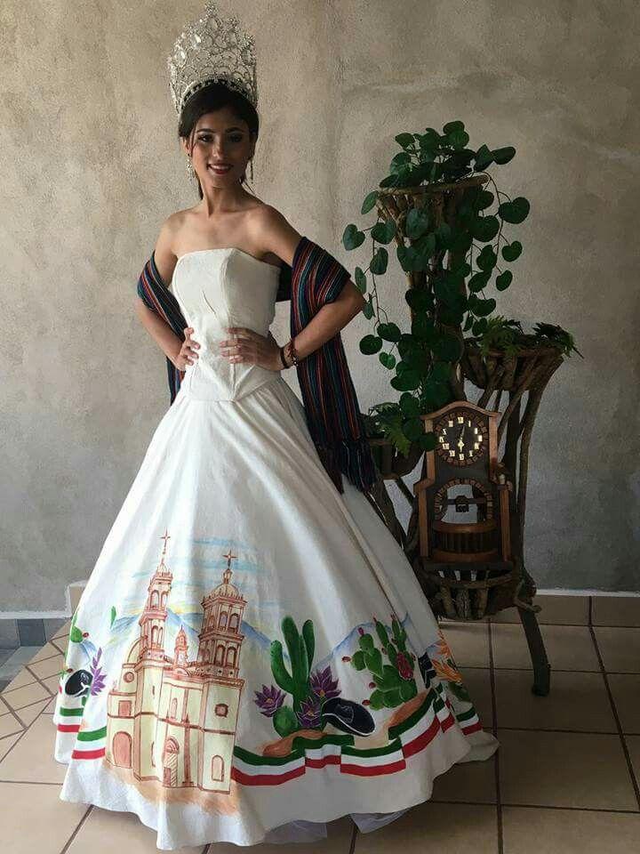 Vestido Pintado A Mano En Manta En 2019 Vestidos Pintados
