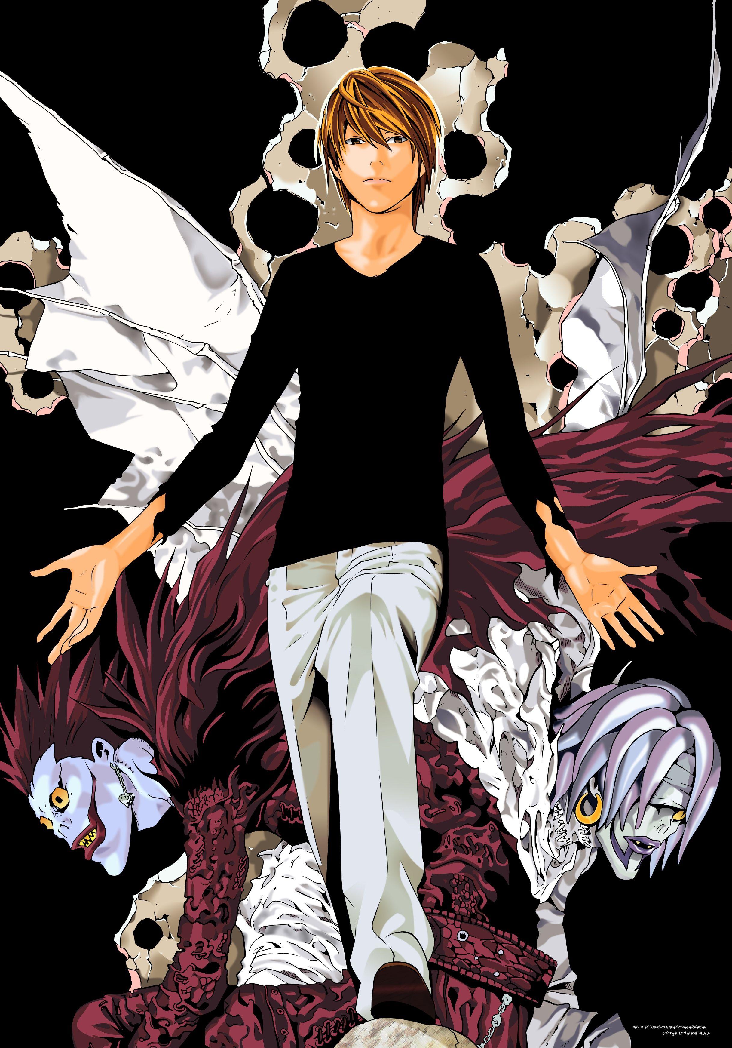 Death note light yagami kira death note anime - Manga death note ...
