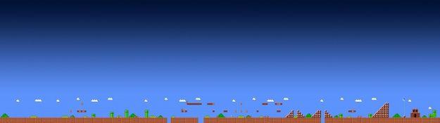 Mario Dual Screen Wallpaper