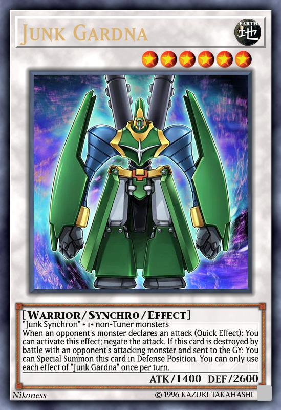 Junk Synchron Yugioh Card Genuine Yu-Gi-Oh Card