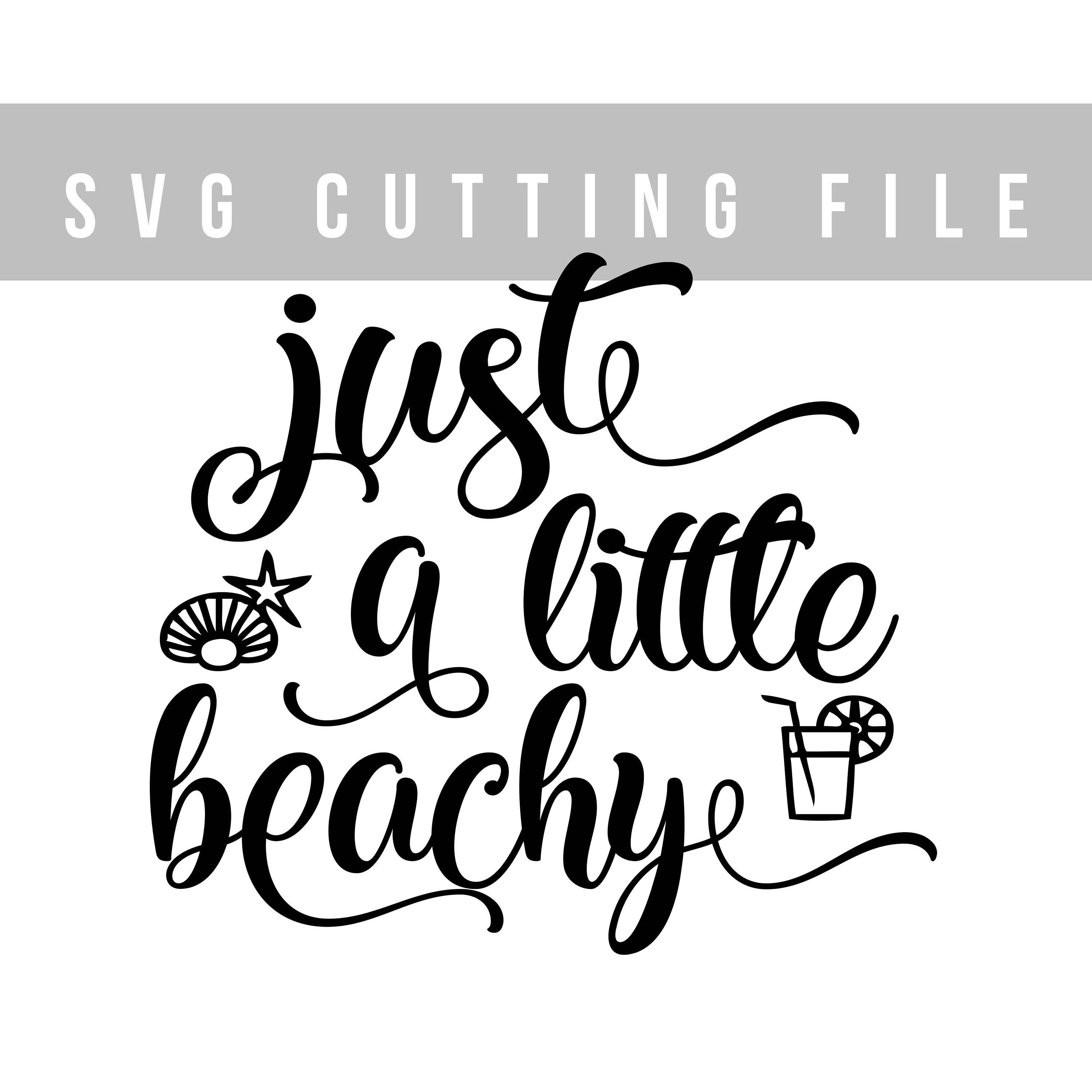 Just a little beachy SVG file for Cricut Summer svg design