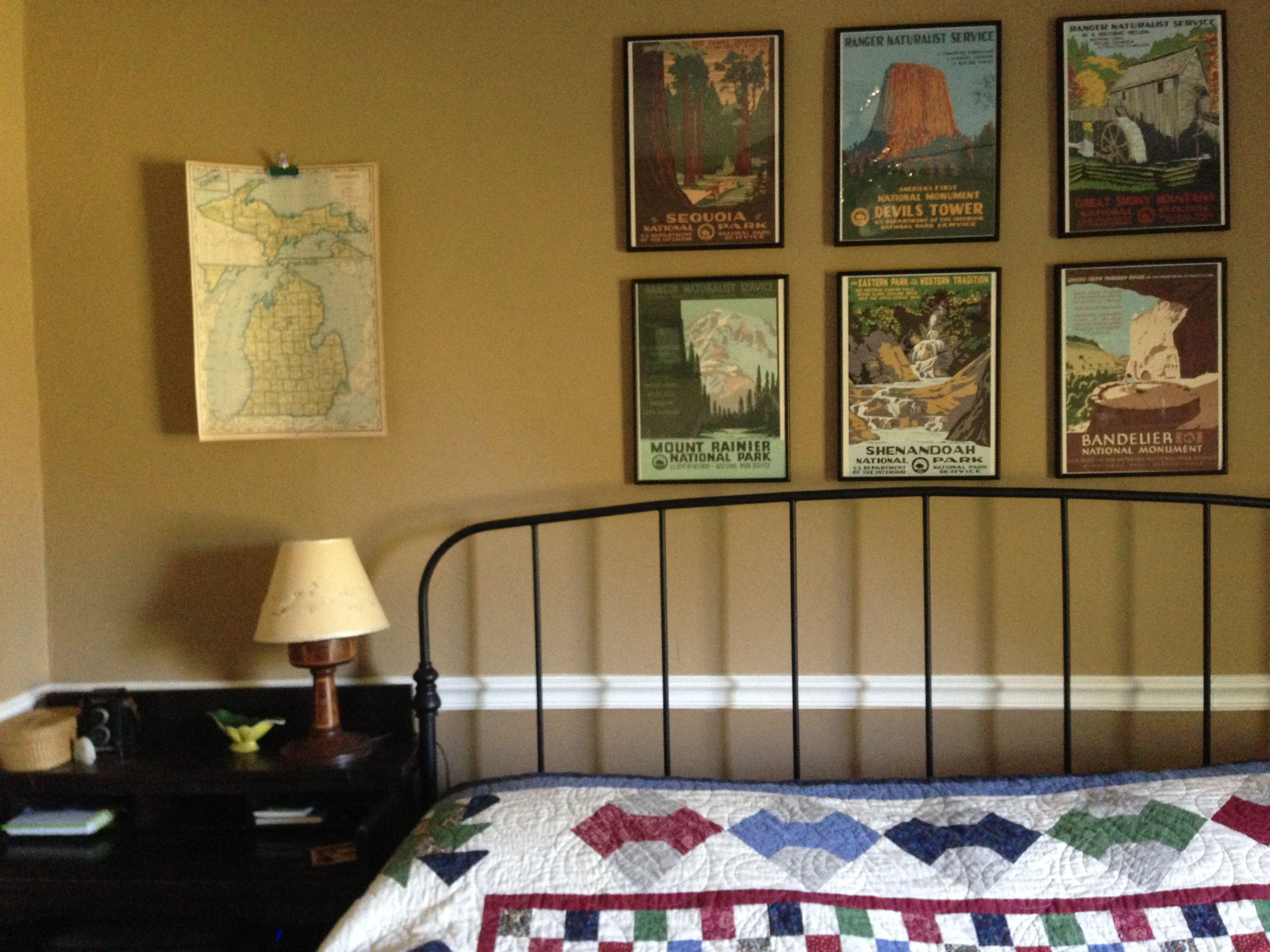 Vintage Travel Themed Master Bedroom Travel Themed Bedroom Travel Themed Room Space Themed Bedroom