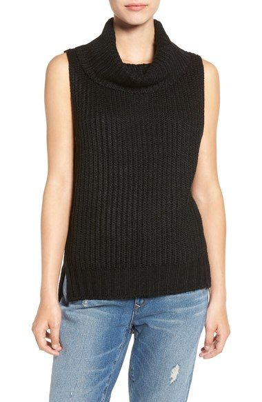 49bf4487e898a ASTR High Low Turtleneck Sweater available at  Nordstrom. Sleeveless ...