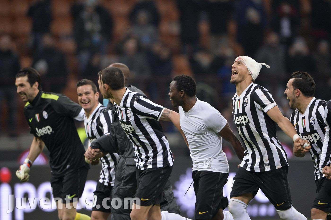 Milan - Juventus 0-2 Grazie ragazzi!!!
