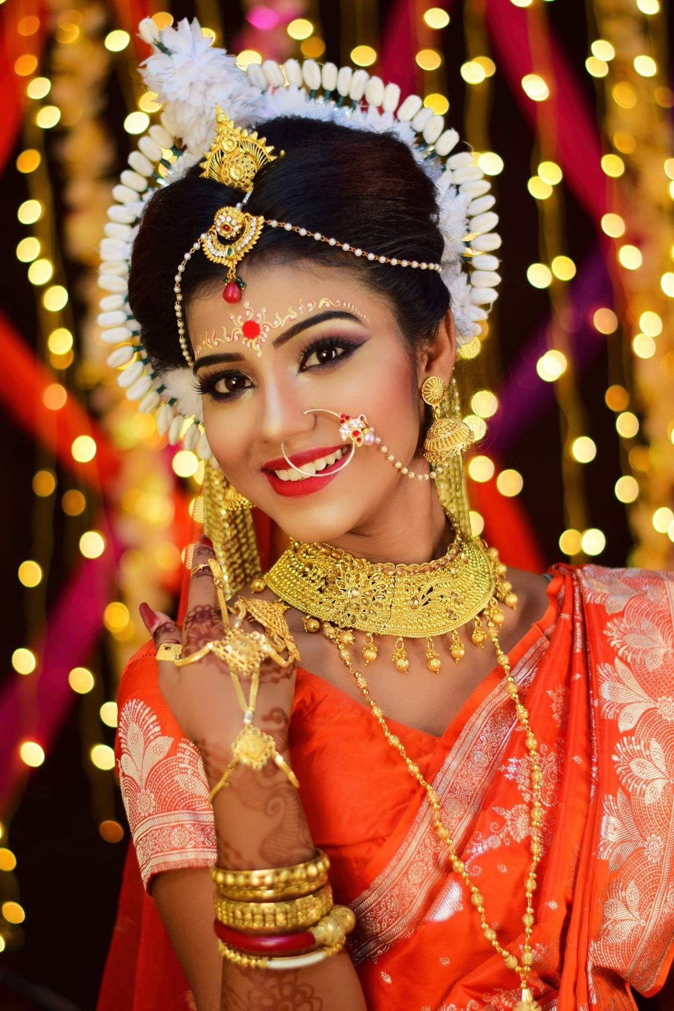 Pin by Ved Narayan on Bride Portraits Bengali bridal